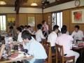 ワイナリーでの昼食2